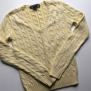 Ralph Lauren Sport Cable Knit Sweater